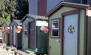 a sisterhood of carpenters builds tiny houses for the homeless