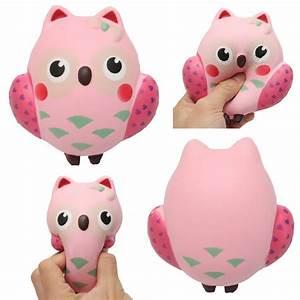 Squishy Owl Slow Rebound Toy Squeeze Slow Rising Soft