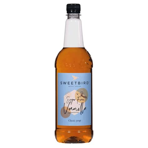 Before you buy a coffee syrup, just be aware that not all flavoured syrups are suitable for putting into your coffee. Sweetbird sugar free vanilla Syrup 1 Litre: Hub Coffee