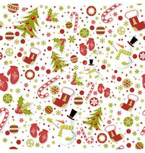 christmas wrapping paper designs seamless pattern with christmas elements vector by yuzach