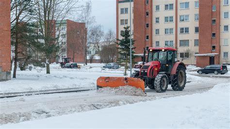 Informācija par pagalmu tīrīšanu 10.februārī - olaine.lv