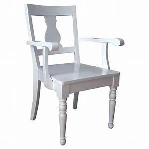 Weiße Stühle Mit Armlehne : k chenstuhl porta mit armlehne ~ Bigdaddyawards.com Haus und Dekorationen