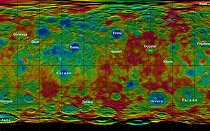 NASA's Dawn Reveals Topography of Dwarf Planet Ceres
