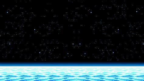Pixel Backgrounds Space Pixel Horizon Hd Wallpapers Desktop