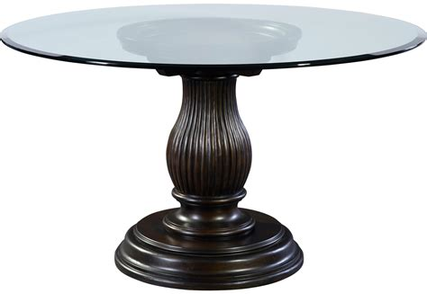 broyhill glass table ls broyhill furniture jessa round glass dining table with