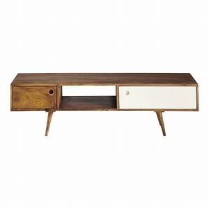 Tv Möbel Vintage : meuble tv vintage en sheesham for the home tv furniture vintage tv tv unit ~ Watch28wear.com Haus und Dekorationen