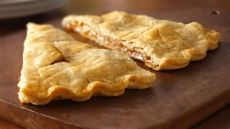By the way, this pie crust is very easy and fast to make than tranditional one. Easy Apple Turnovers Recipe - Pillsbury.com
