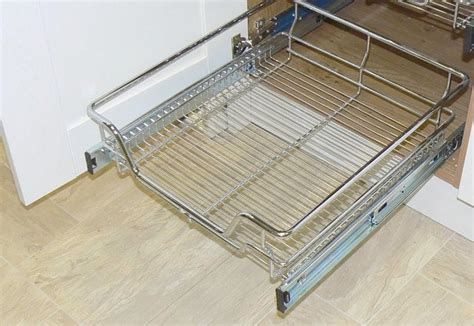 wire baskets for kitchen cabinets pull out wire baskets for cabinets home design 1916