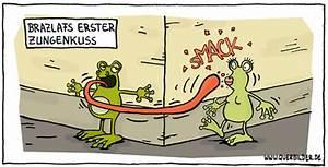 Frosch Bilder Lustig : frosch zungenkuss ~ Whattoseeinmadrid.com Haus und Dekorationen