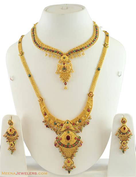 The Latest Images of Gold Bridal Necklace Designs