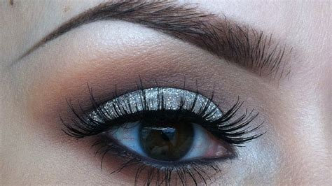 glitter eyeshadow tutorial youtube