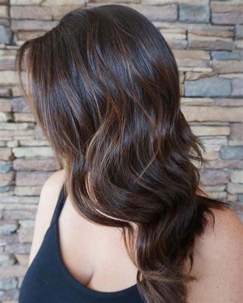 Naturally Hair Brown by Hairstyle With Caramel Highlights 2019 Haircuts