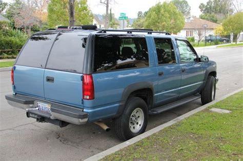 transmission control 1996 chevrolet suburban 2500 auto manual purchase used 1996 gmc suburban 2500 slt 4x4 7 4l in north hollywood california united states