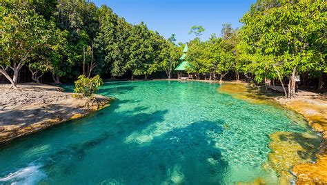 emerald pool and patio junction city krabi jungle tour emerald pool trip ppkk