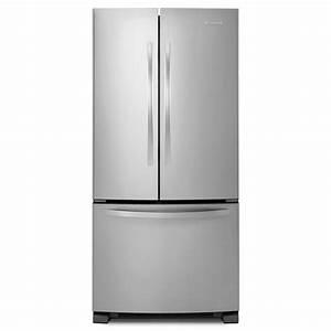 Shop kitchenaid architect ii 219 cu ft french door for Kitchenaid architect ii refrigerator
