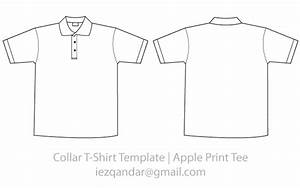 vector collar tee template vector images 365psdcom With collar t shirt template psd