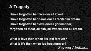 A Tragedy Poem by Sayeed Abubakar - Poem Hunter