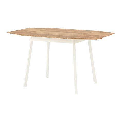 ikea drop leaf table ikea ps 2012 drop leaf table bamboo white 74 106 138x80 cm