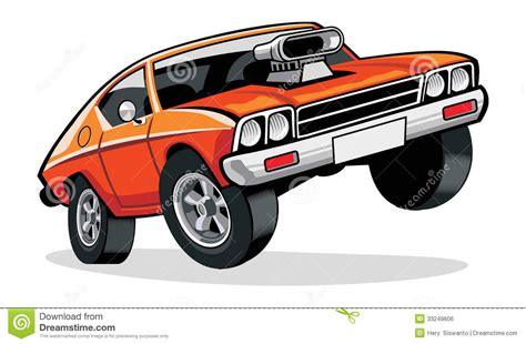 muscle car cartoon icons images muscle car cartoon