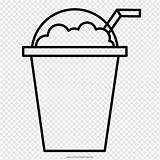 Angle Milk Milkshake Rectangle Coloring Ice Coffee Cream Frappe Pngwing sketch template