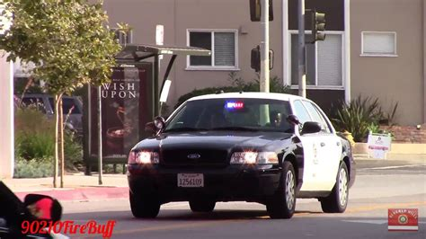 lapd dodge charger slicktop crown vic responding code