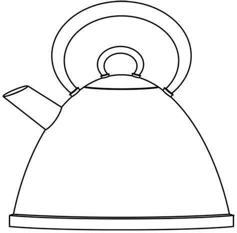 dessin de cuisine à imprimer une bouilloire dory fr coloriages