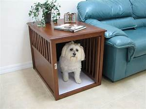 15 stylish pet beds that also serve as great looking tables With dog crate bedside table