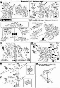 Sd Star Winning Gundam English Manual  U0026 Color Guide