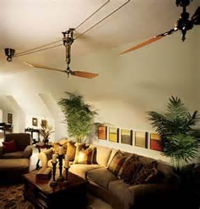 Palm Leaf Ceiling Fan Blades by Vintage Ceiling Fans Stir The Air Evoke Sense Of Drama