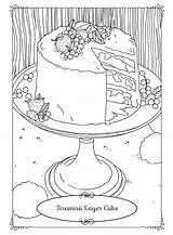 Coloring Pages Cakes Southern Living Visit Turned Ve Favorite Into sketch template