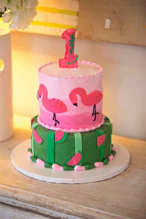 flamingo watermelon birthday nico  lala