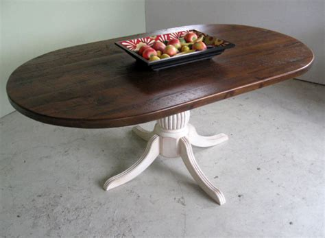 ″ Reclaimed Racetrack Oval Dining Table