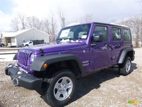 purple jeep interior 2017 extreme purple jeep wrangler unlimited sport 4x4
