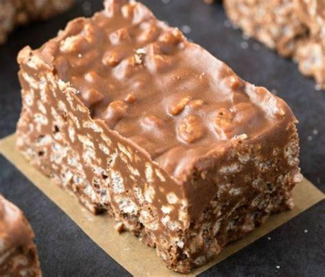 huile coco cuisine recette facile de barres crunchies au chocolat et beurre d