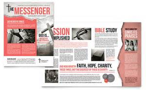 christian wedding program template newsletter templates indesign illustrator publisher word