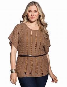 Crochet Stitch Kimono Top