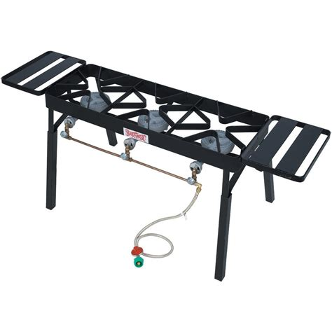outdoor patio stove gas bayou classic stoves with low pressure gas burners black