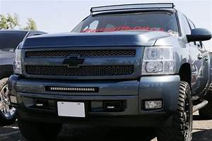Lower Grille 20 U0026quot  Led Light Bar Kit For 2011