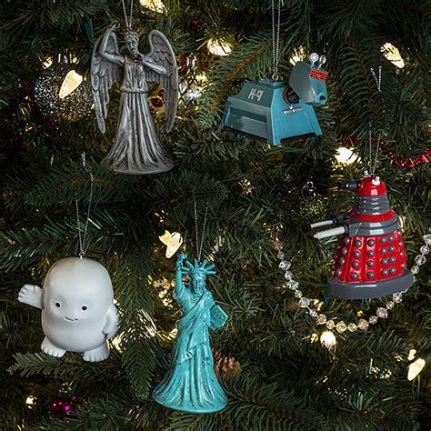 doctor who k9 ornament thinkgeek