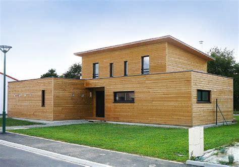 maison ossature bois en kit gironde ventana