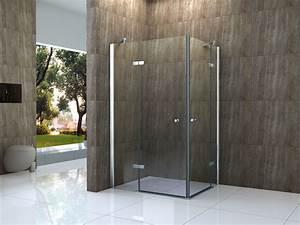 Duschwand Glas : canto 100 x 90 cm glas dusche duschtasse duschkabine ~ Pilothousefishingboats.com Haus und Dekorationen
