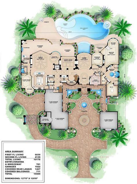 luxury house floor plan best 25 mansion floor plans ideas on