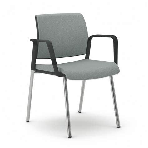 4 pieds chaise chaise de bureau ou réunion avec accoudoirs et 4 pieds
