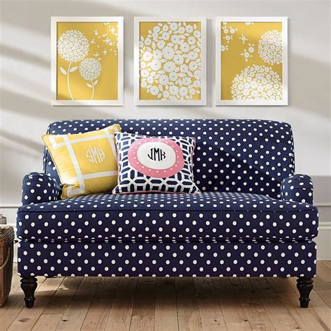 simple rooms   polka dot design twists   adorable