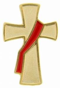 Deacon Cross Lapel Pin