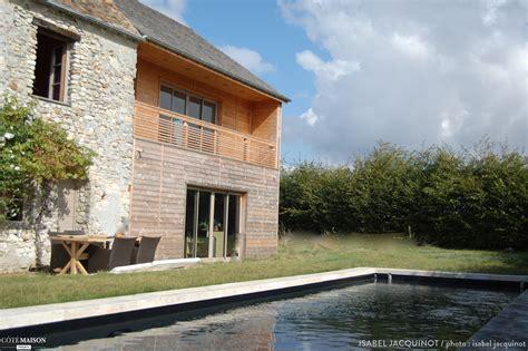 extension bois d une tr 232 s ancienne maison dans les yvelines jacquinot c 244 t 233 maison