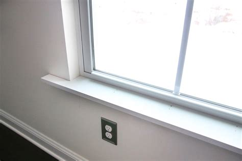 New Window Sill by How To Install Craftsman Style Interior Window Trim Just