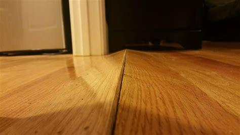 hardwood floor water damage hardwood floor split and bulge home