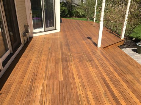 premium deck restoration staining refinishing
