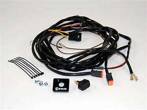 Kc Hilites Jeep Wrangler Wiring Harness For 2 Lights W   2
